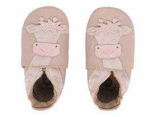 Immagine di Bobux scarpa neonato Soft Sole tg. M giraffa beige - Scarpine neonato