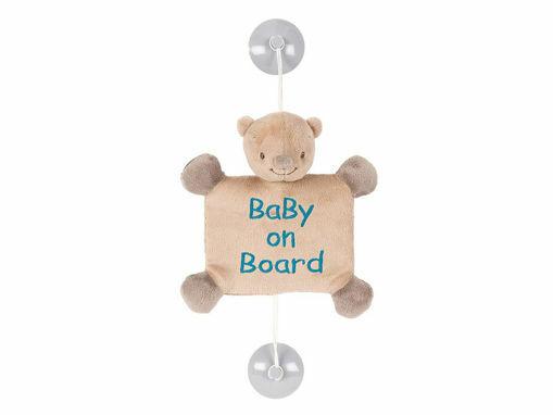 Immagine di Nattou Baby On Board Basile l'orso - Peluches