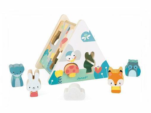 Immagine di Janod gioco a incastro in legno - Educativi
