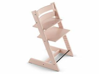 Immagine di Stokke sedia Tripp Trapp personalizzabile con incisione laser serene pink - Seggioloni pappa