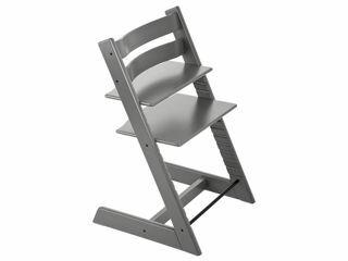 Immagine di Stokke sedia Tripp Trapp personalizzabile con incisione laser storm grey - Seggioloni pappa