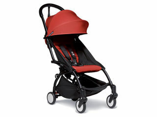 Immagine di Babyzen passeggino Yoyo2 6+ nero-rosso - Passeggini leggeri
