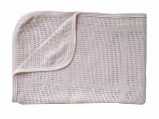 Immagine di Bamboom coperta La Ninna Mini New Vintage estiva 100 x 75 cm rosa - Corredino nanna