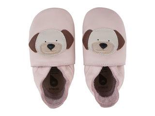 Immagine di Bobux scarpa neonato Soft Sole tg. M puppy rosa - Scarpine neonato