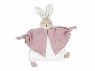 Immagine di Kaloo doudou in cotone biologico coniglietto rosa - Peluches
