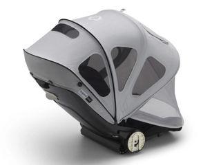 Immagine di Bugaboo capottina Breezy per passeggino Bee misty grey - accessori