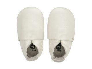 Immagine di Bobux scarpa neonato Soft Sole tg. newborn bianco perla - Scarpine neonato