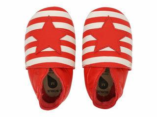 Immagine di Bobux scarpa neonato Soft Sole tg. XL Stars and Stripes red - Scarpine neonato