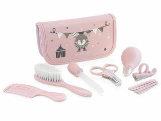 Immagine di Miniland kit completo per il baby care Baby Kit rosa - Accessori e giochi