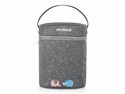 Immagine di Miniland borsa doppia isotermica Thermibag Double - Scaldabiberon