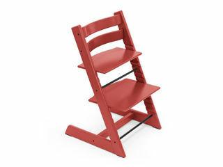 Immagine di Stokke sedia Tripp Trapp personalizzabile con incisione laser warm red - Seggioloni pappa