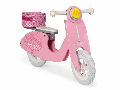 Immagine di Janod bicicletta scooter Mademoiselle rosa - Giochi cavalcabili