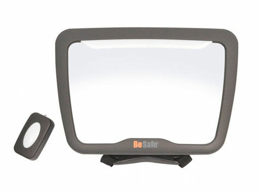 Immagine di BeSafe specchietto XL2 con luce LED new - Accessori per seggiolini auto