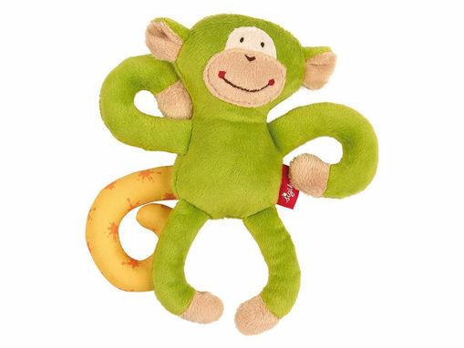 Immagine di Sigikid peluche da appendere Scimmia verde - Giochi passeggino