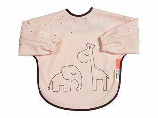 Immagine di Done by Deer bavaglino con maniche Dreamy Dots 6-18 mesi rosa cipria - Bavaglini neonato