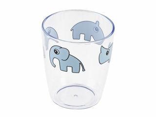 Immagine di Done by Deer bicchiere Yummi Amici di Deer 120 ml celeste - Tazze e bicchieri