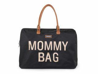 Immagine di Childhome borsa fasciatoio Mommy Bag nero-oro - Borse e organizer
