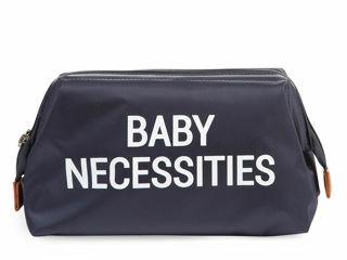 Immagine di Childhome beauty case Baby Necessities blu navy - Borse e organizer