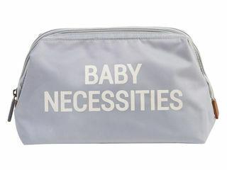 Immagine di Childhome beauty case Baby Necessities grigio - Borse e organizer