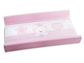 Immagine di Italbaby materassino fasciatoio Baby Re rosa - Materassini