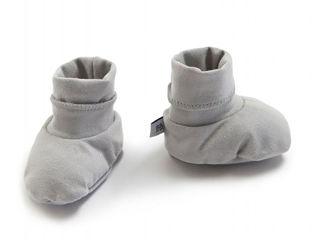 Immagine di Bamboom babbucce per neonato Pure grigio - Calzine per neonato