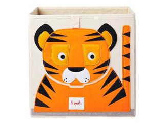 Immagine di 3 Sprouts contenitore portaoggetti tigre - Accessori vari