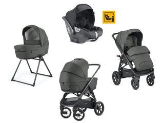 Immagine di Inglesina Sistema Quattro Aptica XT + Darwin i-Size charcoal grey - Passeggini trio e duo