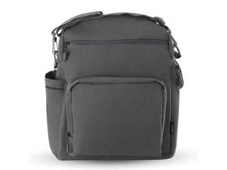 Immagine di Inglesina borsa zaino Adventure per passeggino Aptica XT charcoal grey - Borse e organizer