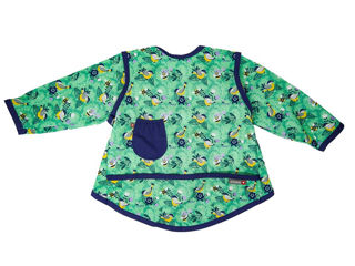 Immagine di Close bavaglino manica lunga Pop 6-18 mesi round the garden - Bavaglini neonato