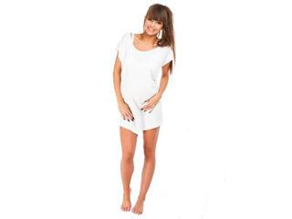 Immagine di Mysanity shirt per il parto bianco tg M - Premaman
