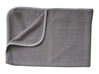 Immagine di Bamboom coperta La Ninna Mini New Vintage estiva 100 x 75 cm grigio - Corredino nanna