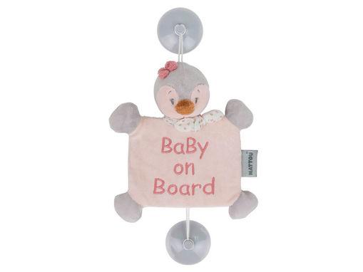Immagine di Nattou Baby On Board Sasha il pinguino - Peluches