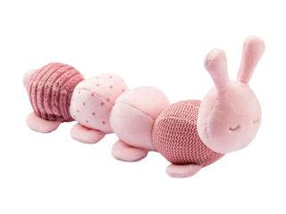 Immagine di Nattou bruco multiattività rosa - Peluches