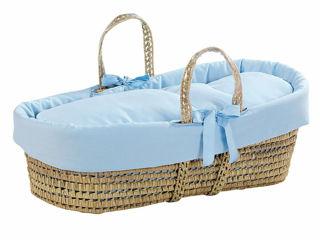 Immagine di Picci cesta portabebè Colorelle celeste - Culle