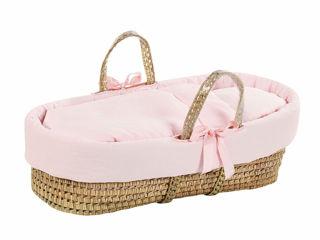 Immagine di Picci cesta portabebè Colorelle rosa - Culle