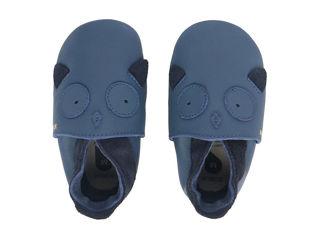 Immagine di Bobux scarpa neonato Soft Sole tg. M gufetto blu - Scarpine neonato