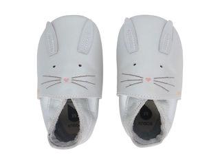 Immagine di Bobux scarpa neonato Soft Sole tg. L topolino argento - Scarpine neonato