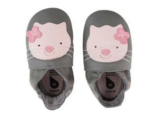 Immagine di Bobux scarpa neonato Soft Sole tg. XL gattino grigio - Scarpine neonato