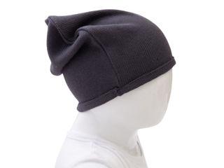 Immagine di Bamboom cappellino con bordino blu notte tg 1-3 anni - Cappelli e guanti