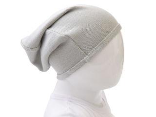 Immagine di Bamboom cappellino con bordino azzurro tg 0-6 mesi - Cappelli e guanti