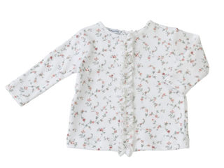 Immagine di Bamboom maglietta manica lunga froufrou fiori tg 9-12 mesi - T-Shirt e Top