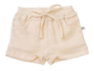 Immagine di Bamboom pantaloncino corto con cordino panna 242 tg 9-12 mesi - Pantaloni
