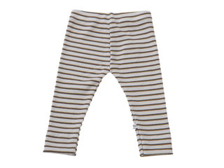 Immagine di Bamboom leggins a costine righe azzurro 247 tg 3 mesi - Pantaloni