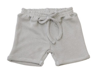 Immagine di Bamboom pantaloncino corto con cordino azzurro 250 tg 3 mesi - Pantaloni