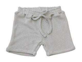 Immagine di Bamboom pantaloncino corto con cordino azzurro 250 tg 9-12 mesi - Pantaloni