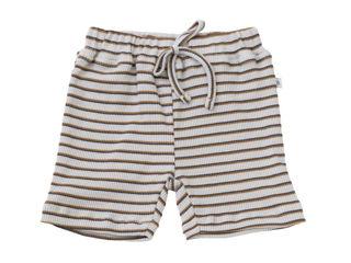 Immagine di Bamboom pantaloncino corto con cordino righe azzurro 250 tg 9-12 mesi - Pantaloni