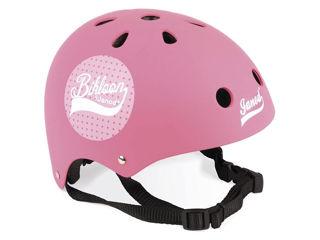 Immagine di Janod casco per bici Bikloon rosa - Seggiolini per bici