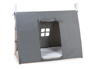 Immagine di Childhome cover per lettino Tipi 140x70 cm grigio - Accessori vari
