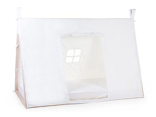Immagine di Childhome cover per lettino Tipi 200x90 cm bianco - Accessori vari
