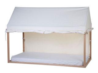 Immagine di Childhome cover per lettino Casetta 200x90 cm bianco - Accessori vari